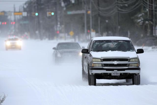 texas winter weather auto glass damage
